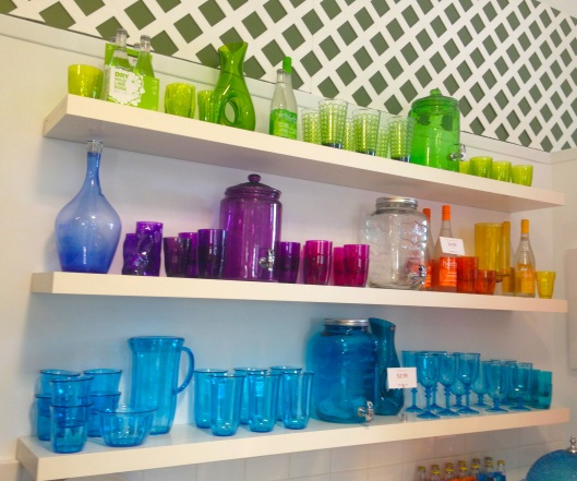 Love all of the coloured glass