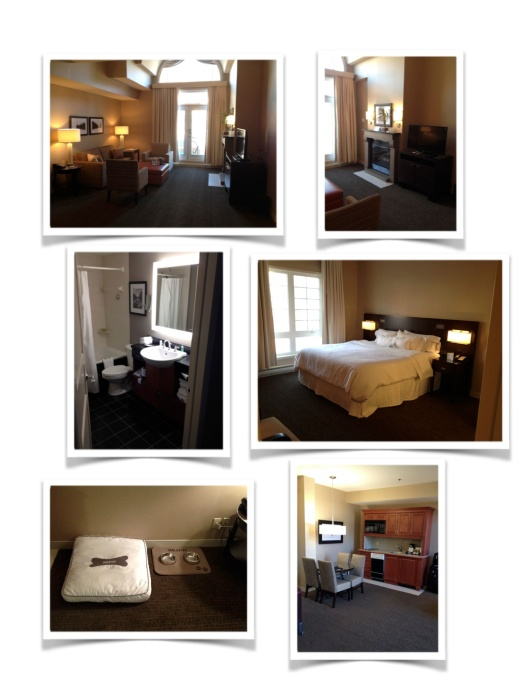 Hotelroom Collage